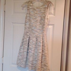 H&M Sparkly skater dress